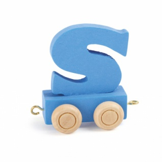 Buchstabenzug bunt S