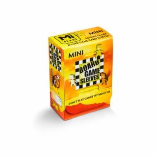 Kartenspiel-Hülle, mini (50 Stück, 41 x 63 mm) blendfrei
