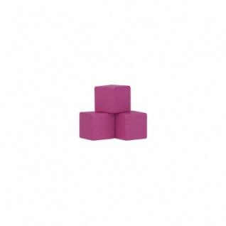 Würfel - Quader - kantig - 10mm - rosa