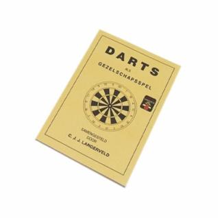 Dart Spielregelbuch auf Niederländisch