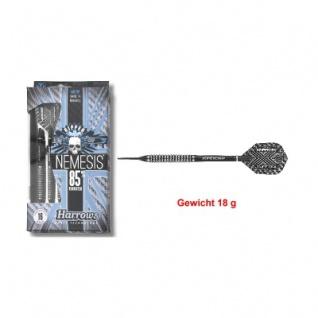 3 x Softdart - Harrows - Nemesis - 80 Nickel-Tungsten - Slim Flight - 18g