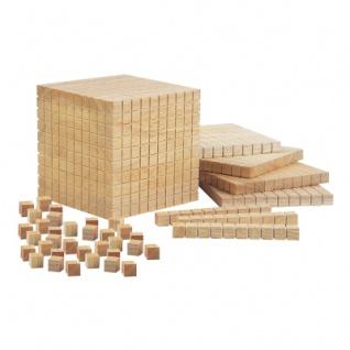 Mathematische Holzwürfel