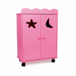 Puppenschrank - pink