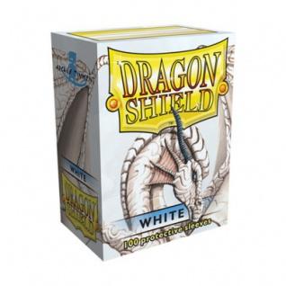 Dragon Shield - Weiß - 100 Stück