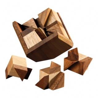 Bermuda-Cube - 8 Puzzleteile - Denkspiel - Knobelspiel - Geduldspiel - Vorschau