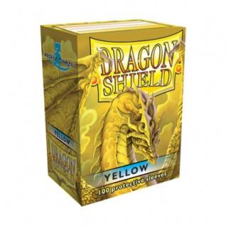 Dragon Shield - Yellow - 100 Stück