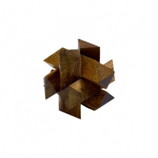 Draco - 6 Puzzleteile - Denkspiel - Knobelspiel - Geduldspiel