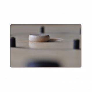Crokinole 65 - Spielsteine weiß und schwarz - je 12 Stück