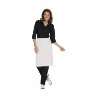 Vorbinder mit 2 Taschen - weiß - 80x60 cm