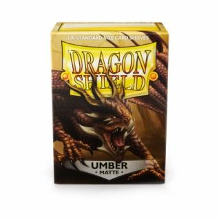 Dragon Shield Matte - Umber (100 Stück)
