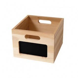 Kaufladenzubehör - Holzbox - 26 x 29 x 19 cm