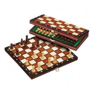 Schachspiel - Reiseschach - klein - Breite ca. 27 cm