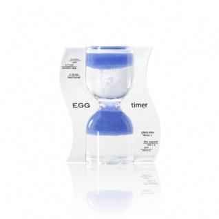 Sanduhr EGG timer - Eieruhr - blau - 10 Minuten