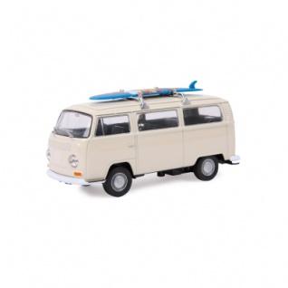 Modellauto - VW Bus T2 + Surfbrett