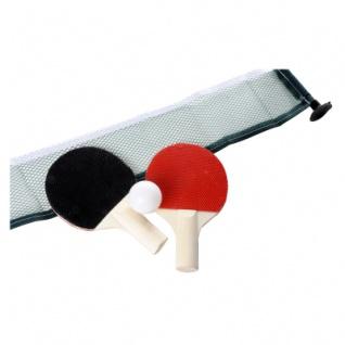 2 Tischtennis Set für Kinder mit Schläger - 2 Bälle und Netz