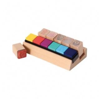 Holz-Lehrer-Stempel 6er-Set - Vorschau 1