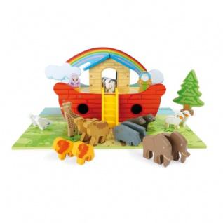 Spielset Arche Noah aus Holz - Vorschau