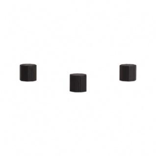 Achteckstein Ocean - 10x10mm - schwarz
