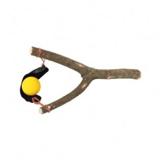 Ballschleuder mit 2 Bällen
