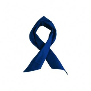 Dreiecktuch - marine-blau