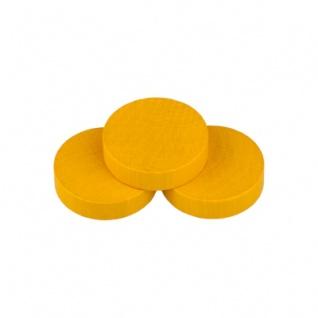 Scheibe - Saturn - 35x7mm - gelb