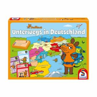 Die Maus - Unterwegs in Deutschland, 2 Spiele
