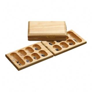 Kalaha - Reisespiel - Hevea-Holz
