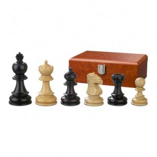 Schachfiguren - Galerius - Holz - Edel-Staunton - Königshöhe 90 mm