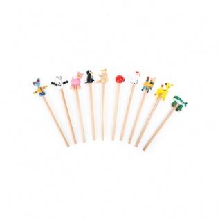 Bleistifte Tiere - Vorschau