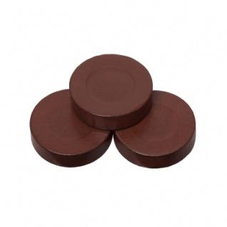 Spielsteine - rund - Holz - braun - 30 x 8 mm