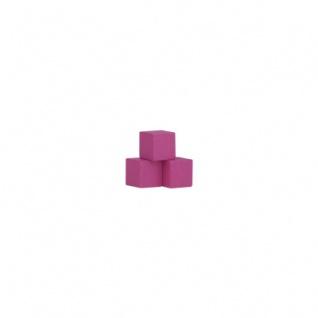 Würfel - Quader - kantig - 8mm - rosa