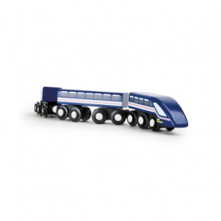 Hochgeschwindigkeitszug - Blauer Blitz TRAINible
