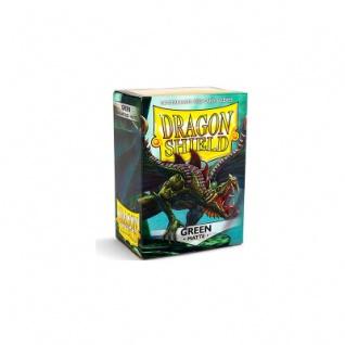 Dragon Shield Matte - Grün - 100 Stück
