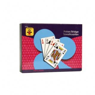 Spielkarten Plastik 2 x 54 Blatt