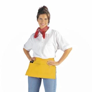 Taschenschürze - gelb - 50x27 cm
