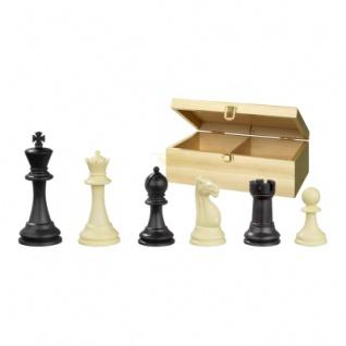 Schachfiguren - Nerva - Kunststoff - Staunton - Königshöhe 95 mm