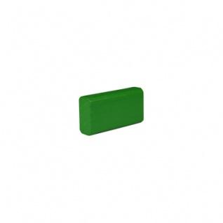 Baustein - Leiste klein - 50x12, 5x25 mm - grün