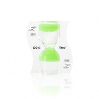 Sanduhr EGG timer - Eieruhr - grün - 10 Minuten