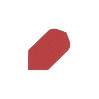 3 x Fly Nylon - Slim Flight - rot - reisfeste Textilfaser