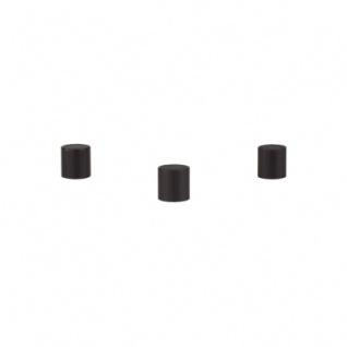 Zylinder - Walze Sol - 10x10mm - schwarz