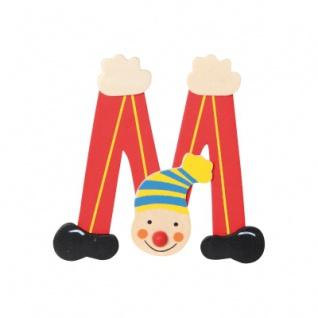 Buchstabe Clown M - Vorschau