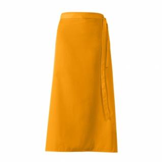 Bistro-Vorbinder - mango - orange - 100x100 cm