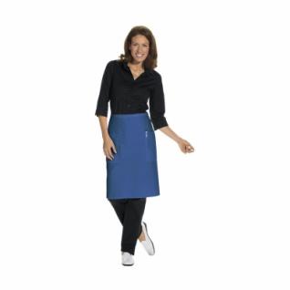 Vorbinder mit 2 Taschen - königsblau - 80x60 cm