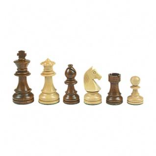 Schachfiguren - Staunton - braun - Königshöhe 108 mm - gewichtet