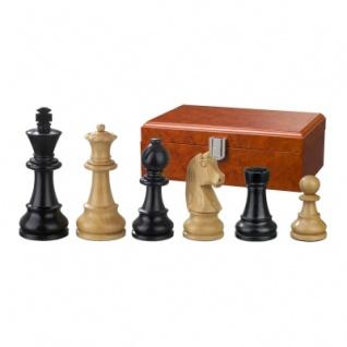 Schachfiguren - Ludwig XIV - Holz - Staunton - Königshöhe 90 mm