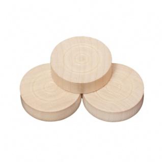 Spielsteine - rund - Holz - hell - 28 x 8 mm