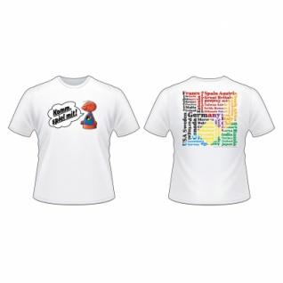 Spiel T-shirt - Weiß - Größe - Xl - Vorschau