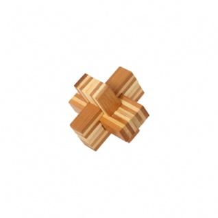 Bambus-Puzzle Teufelsknoten