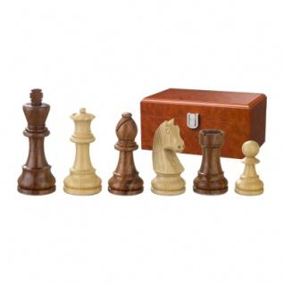 Schachfiguren - Artus - Holz - Staunton - Königshöhe 110 mm