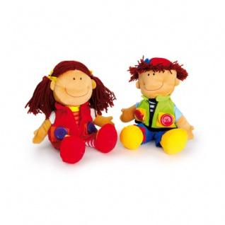 Puppen - Nicoletta und David